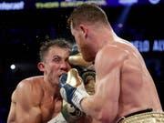 Der Rückkampf zwischen Saul Alaverz (rechts) und Gennadi Golowkin findet nun doch statt (Bild: KEYSTONE/AP/JOHN LOCHER)