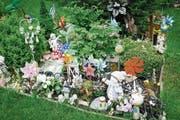 Ein Gemeinschaftsgrab für Fehlgeborene auf einem Friedhof. (Bild: Jürgen Ritter/Imago (Berlin, 11. Mai 2018))