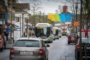 Der Boulevard in Kreuzlingen. Ab dem 25. Juni ist er wieder von allen Richtungen her befahrbar. (Bild: Reto Martin)