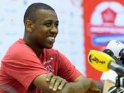 Stets gut gelaunter Schweizer Ersatzspieler mit wichtiger Führungsrolle: Gelson Fernandes (Bild: KEYSTONE/LAURENT GILLIERON)