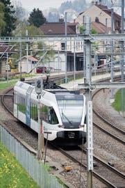 In St.Gallen ist die S-Bahn weit von einem Viertelstundentakt entfernt. (Bild: Urs Jaudas (6. Mai 2013))