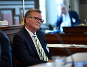 Pius Kündig im Kantonsratssaal. (Bild: Regina Kühne)