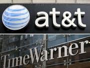 Der US-Telekomriese AT&T hat den Milliarden-Kauf von Time Warner trotz des Widerstands von US-Präsident Donald Trump abgeschlossen. (Bild: KEYSTONE/EPA/JUSTIN LANE/JASON SZENES)
