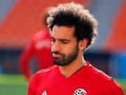 Mohamed Salah kommt nicht von Beginn weg zum Einsatz (Bild: KEYSTONE/EPA/FRANCIS R. MALASIG)