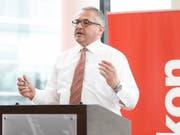 Oerlikon-Konzernchef Roland Fischer will die Getriebesparte an die Schweizer Börse bringen. (Bild: Siggi Bucher/Keystone)