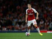 Granit Xhaka hat bei Arsenal seinen Vertrag vorzeitig bis 2024 verlängert (Bild: KEYSTONE/AP/ALASTAIR GRANT)