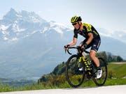 Michael Albasini hat pünktlich zum Start der Tour de Suisse seine starke Form wiedergefunden (Bild: KEYSTONE/VALENTIN FLAURAUD)