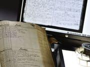 Das St. Galler Staatsarchiv stellt neu via Internet alte Kirchenbücher zur Verfügung, die bis ins 16. Jahrhundert zurückgehen und über Taufen, Eheschliessungen und Todesfälle Auskunft geben. Die Kirchenbücher sind für die Familienforschung wichtig. (Bild: Staatsarchiv St. Gallen)