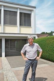 Pierre Joseph wird nur noch bis Ende Jahr als Schulratspräsident und Gemeinderat im Gemeindehaus von Ebnat-Kappel ein und aus gehen. (Bild: Sabine Schmid)
