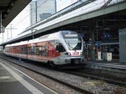 Der Zughersteller Stadler Rail hat im vergangenen Jahr Gas gegeben: Mit einem Umsatzsprung lässt das Unternehmen den Frankenschock hinter sich. (Bild: KEYSTONE/GAETAN BALLY)