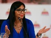 Delcy Rodríguez ist die neue Vize-Präsidentin von Venezuela. (Bild: KEYSTONE/AP/RICARDO MAZALAN)