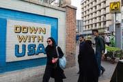 Der politische Druck der Amerikaner schweisst die iranische Gesellschaft zur Zeit mehr zusammen, als es Kritiker des Gottesstaates lieb sein kann. (Bild: Ali Mohammadi/Bloomberg; 9. Mai 2018)