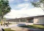 Visualisierung des Kindergartenzentrums Neumüli. (Bild: sk)