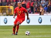 Belgien kann auf Vincent Kompany zählen (Bild: KEYSTONE/AP/GEERT VANDEN WIJNGAERT)