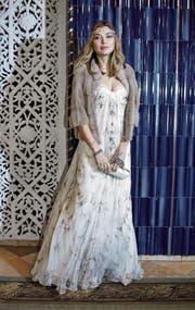 Sie wusste sich in Szene zu setzen: Gulnara Karimowa bei einem öffentlichen Auftritt im Oktober 2013 in Tashkent. (Bild: Yves Forestier/Getty)
