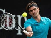 Wird nach seinem Halbfinal-Sieg gegen Nick Kyrgios wieder die Nummer 1 der Welt: Roger Federer (Bild: KEYSTONE/AP dpa/MARIJAN MURAT)