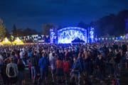 17000 Fans über zwei Tage: Die Organisatoren dürfen sich über einen Besucherrekord freuen. (Bild: Claudio Weder)