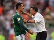 Mit seinem Einsatz beim Auftaktsieg gegen Deutschland nahm der Mexikaner Rafael Marquez bereits an seiner fünften WM-Endrunde teil (Bild: KEYSTONE/EPA/PETER POWELL)