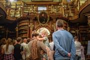 Hotspot des Kulturtourismus in der Ostschweiz ist die Stiftsbibliothek St.Gallen (Bild: Michel Canonica)