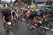 Bei der Austragung 2017 sind 101 Personen im Rennen gegen Fabian Cancellara angetreten. Zielort war der Oberalppass. (Bild: Georg Epp, Andermatt, 25. Juni 2017)