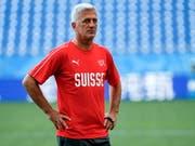 Vladimir Petkovic steht vor der grossen WM-Herausforderung Brasilien (Bild: KEYSTONE/EPA/SHAWN THEW)