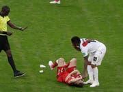 Für Dänemarks William Kvist ist die WM nach dem Auftaktspiel gegen Peru bereits wieder zu Ende (Bild: KEYSTONE/AP/GREGORIO BORGIA)