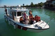 Die FFZ-Seerettung sorgt für den Transport über den See. (Bild: PD)