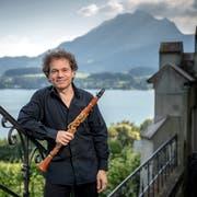 Fabio di Càsola brillierte auch zum Abschluss des Festivals, das er selber künstlerisch leitet. (Bild Pius Amrein, 15. Juni 2018)