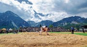 Das Bündner-Glarner Kantonalschwingfest fand in Arosa statt. (Bild: Eddy Risch/Keystone)