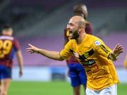 Tunahan Cicek erzielte in der vergangenen Saison 21 Tore für den FC Schaffhausen (Bild: KEYSTONE/MARTIAL TREZZINI)