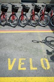 In anderen Städten sind Veloverleihsysteme längst etabliert. (Bild: Gian Ehrenzeller/Keystone)