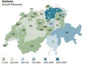 Zuwanderung in den Kanton St.Gallen. (Quelle: Fachstelle für Statistik Kanton St.Gallen/Grafik: Selina Buess)