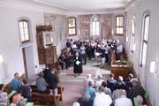 Festlicher Gottesdienst in der Kirche Ganterschwil. (Bild: Peter Küpfer)