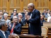 Die Justiz darf nicht gegen Ex-Nationalrat Christian Miesch (SVP/BL) ermitteln. (Bild: KEYSTONE/PETER KLAUNZER)