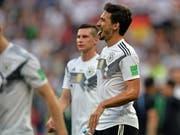 Mats Hummels sprach Klartext nach der Niederlage gegen Mexiko (Bild: KEYSTONE/EPA/PETER POWELL)