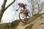 Reto Indergand kämpft am Sonntag an der Mountainbike Schweizer-Meisterschaft um den Titel. (Bild: PD)