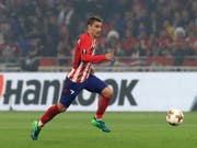 Antoine Griezmann hat bei Atlético einen neuen Vertrag erhalten (Bild: KEYSTONE/AP/THIBAULT CAMUS)