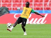Sadio Mané ist der Star der senegalesischen Mannschaft, die gegen Polen in das WM-Turnier startet (Bild: KEYSTONE/EPA/FACUNDO ARRIZABALAGA)