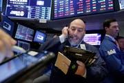 Auch an der New York Stock Exchange war die Stimmung gestern eher negativ. (Bild: Richard Drew/Keystone)