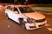 Beim Unfall wurde niemand verletzt. (Bild: Luzerner Polizei (Neuenkirch, 18. Juni 2018))