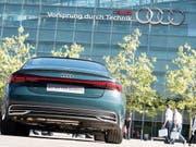Nach der Verhaftung von Audi-Chef Rupert Stadler übernimmt Bram Schot interimistisch das Steuer am Hauptsitz in Ingolstadt. (Bild: KEYSTONE/EPA/LUKAS BARTH)