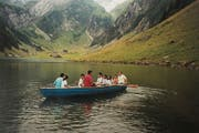 Familienausflug zum Seealpsee, um 2004. (Bild: Thi My Lien Nguyen)