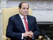 Fatah Al-Sisi war bei der gelenkten Präsidentenwahl mit deutlicher Mehrheit wiedergewählt worden. (Bild: KEYSTONE/EPA ISP POOL/OLIVIER DOULIERY / POOL)