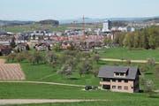 Rotkreuz ist in den letzten 25 Jahren enorm gewachsen. (Bild: Daniel Frischherz/Zuger Presse (30. April 2018))