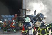 Die Brandursache ist noch nicht geklärt. Bild: Luzerner Polizei