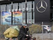 Ausländische Firmen in China beklagen, dass das Reich der Mitte auf dem Wirtschaftsgebiet nicht mit gleichlangen Spiessen mit westlichen Ländern kämpft. (Bild: KEYSTONE/EPA/WU HONG)