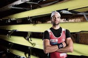 Ruder-Olympiasieger Mario Gyr will es nochmals wissen. (Bild: Christian Egelmair/freshfocus (Sarnen, 14. Juli 2017))