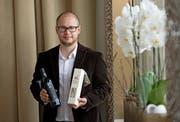 Silvan Brun hat 2016 eine Auszeichnung als besten Olivenimporteur weltweit gewonnen. (Bild: Corinne Glanzmann (Luzern, 10. Oktober 2016))