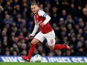 Nach 17 Jahren Zusammenarbeit: Jack Wilshere sieht seine persönliche Zukunft nicht bei Arsenal und verlässt den Klub in diesem Sommer (Bild: KEYSTONE/EPA/WILL OLIVER)