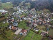 Blick auf Altwis. Die Gemeinde möchte per 2021 mit Hitzkirch fusionieren. (Bild: Pius Amrein, 23. Dezember 2017)